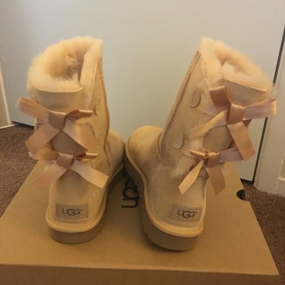 da9dfec1275 NIB UGG Bailey Bow II Boots / Women size 7, 8, 9 NWT